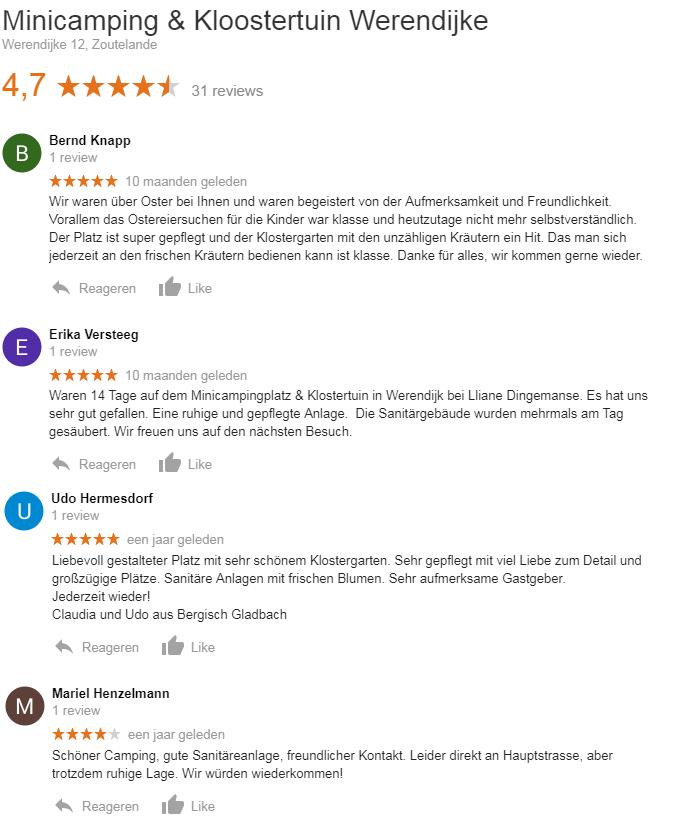 Google Reviews Werendijke