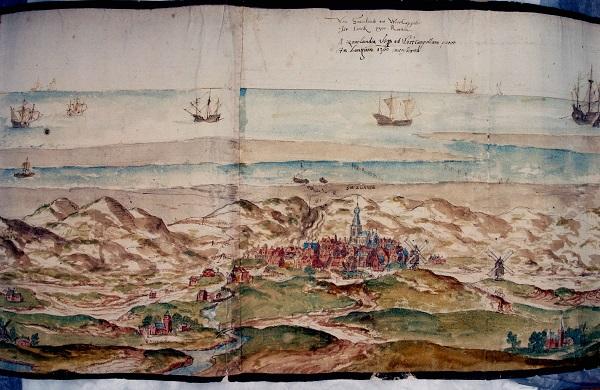 Kloostertuin - Werendijke in de middeleeuwen